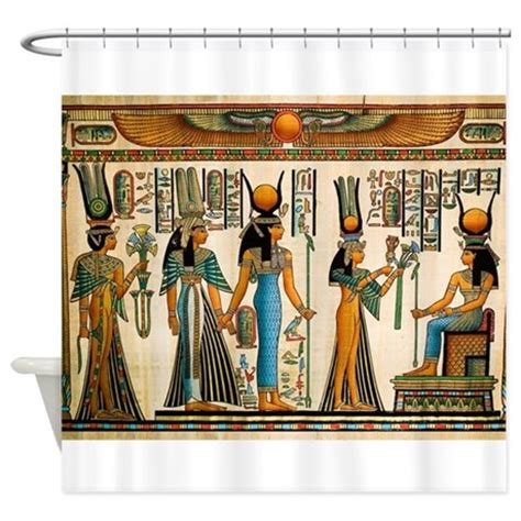 bathroom accessories egypt ancient egyptian wall tapestry shower curtain by houseofprints