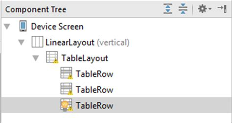 android studio table layout an android studio tablelayout and tablerow tutorial