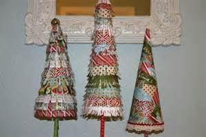 Jen uinely inspired diy paper christmas trees