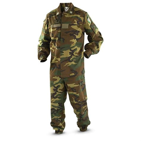Army Set Overall By Anfashion new italian surplus bdu set woodland 182535