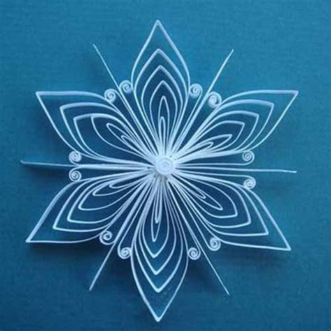 Snowflake Paper Crafts - quilled paper crafts for and adults amazing handmade