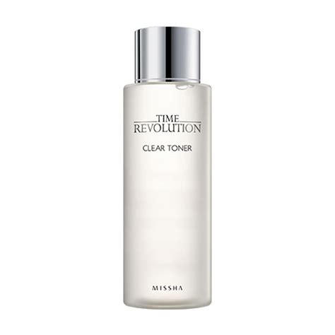 Missha Time Revolution Clear Toner missha time revolution clear toner 250ml ebay
