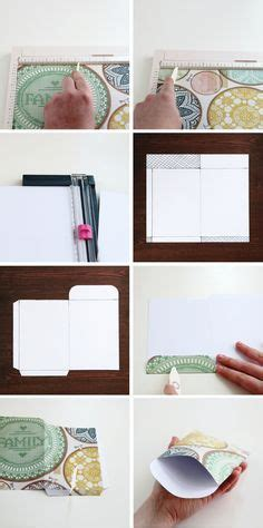 How To Make Your Own Scrapbook Paper - 25 best ideas about pocket envelopes on snail