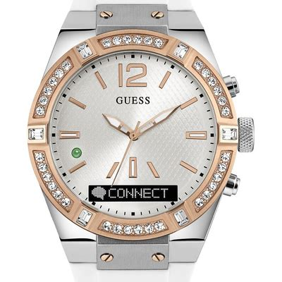 Guess Highline W0829l3 montre c0002m2 guess blanc montres and co