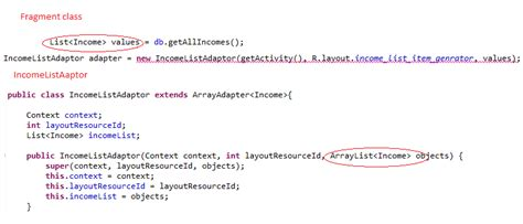 layoutinflater inflater activity context getlayoutinflater android listview from sqlite using customadapter