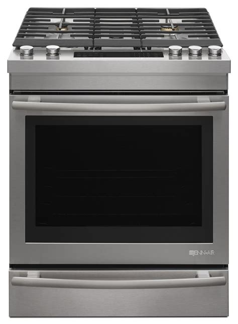 jenn air cooktop jenn air style stainless dual fuel range jds1450fs