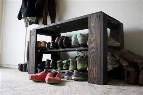 diy pallet shoe storage bench design ideas pallets designs