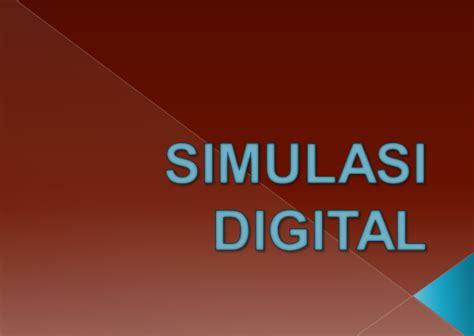 Perangkat Pembelajaran Simulasi Digital Smk Kelas 10 pengertian simulasi digital dalam pembelajaran materi