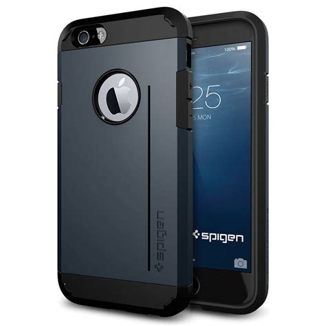 Spigen Iphone 6 6s by Spigen Tough Armor S For Iphone 6 6s Metal Slate