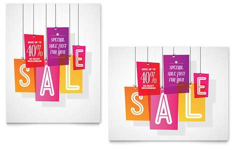 sale tag template clearance tag sale poster template word publisher