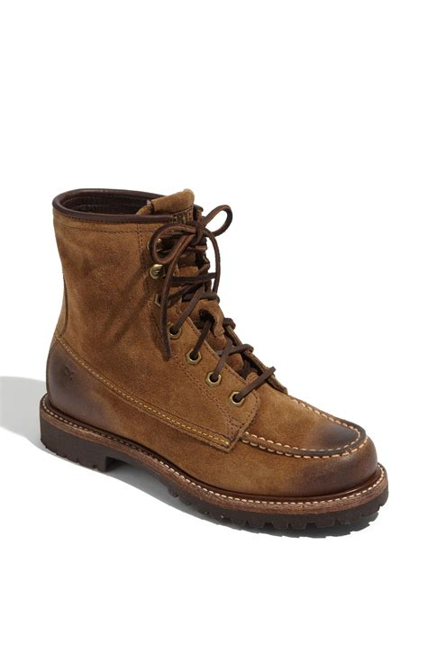 frye dakota boot in brown lyst
