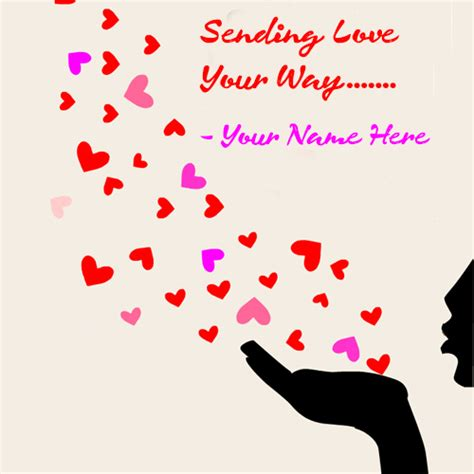 beautiful greeting cards with my name and lover feeling quotes for his with your name wishes