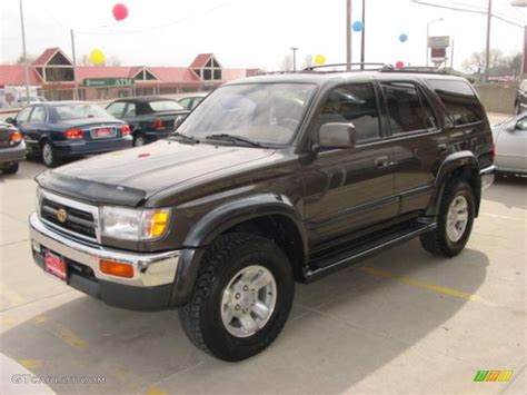 1998 Toyota 4runner Limited 1998 Anthracite Metallic Toyota 4runner Limited 4x4