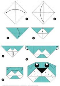 how to make origami craft how to make origami of a bulldog step by step free