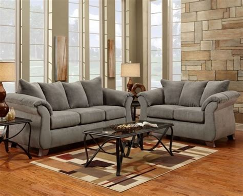 gray sofa and loveseat sensations grey sofa and loveseat 6700sensgrey living