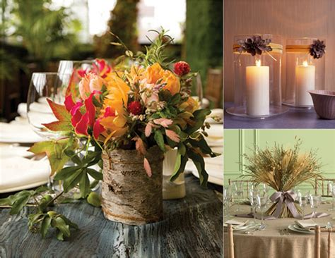 fall centerpiece ideastruly engaging wedding blog