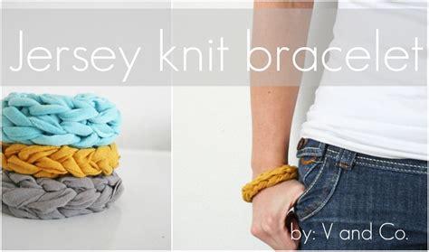 how to make knitted bracelets handmade jersey knit bracelet 187 i farm weddings