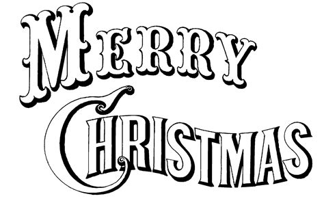 merry christmas clipart black  white clipart panda  clipart images
