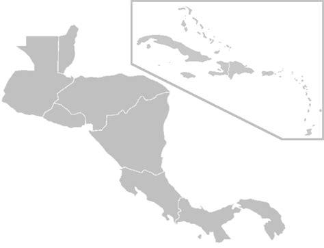 blank map central america caribbean islands maps of dallas blank map of central america