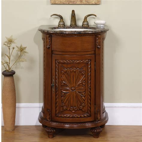 vanity single sink 24 inch small single sink vanity with granite and antiqued