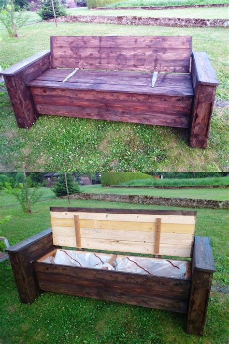storage bench made from pallets 1000 images about diy furniture on pinterest ikea hacks