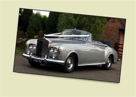 rolls royce silver cloud iii 4 door convertible wedding