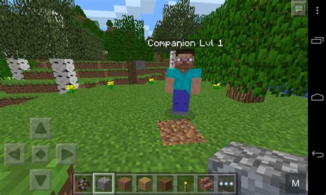 mod in minecraft pe the companion mod minecraft pe mods addons