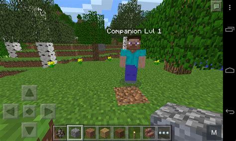 mod in minecraft pe the companion mod minecraft pe mods addons