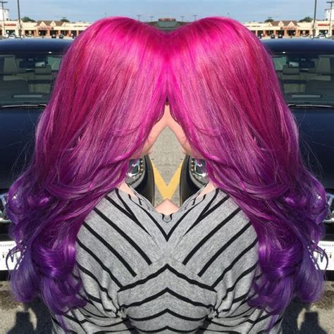 ombre with pravana vivids beautiful ombr 233 hair with pravana vivids wild orchid to
