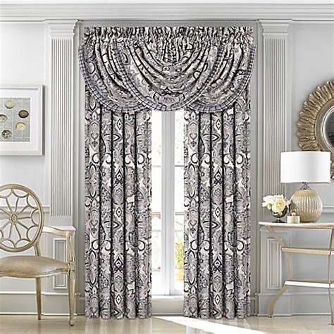 bed bath and beyond window treatments j queen new york guiliana window treatments bed bath
