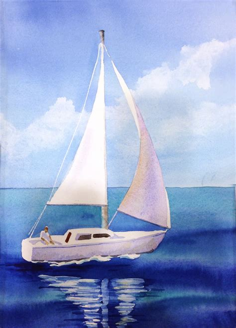 boat paint pictures the gallery for gt sailboat painting