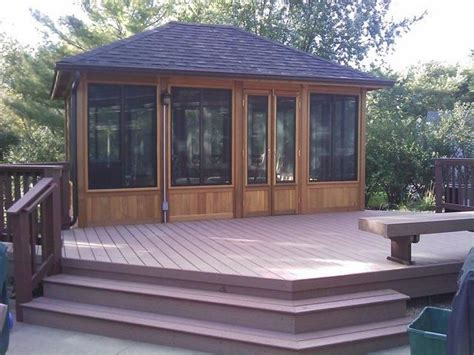 gazebo deck gazebo design ideas by archadeck st louis decks
