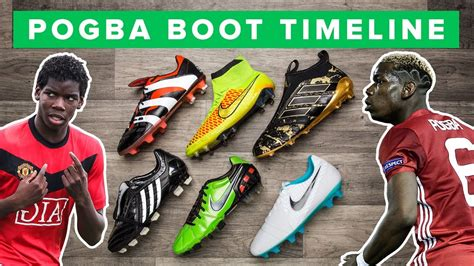 pogba boot history    paul pogbas football