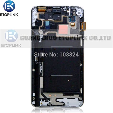 Lcd Samsung Note 3 new lcd for samsung note 3 n9000 n9005 n900a n900t lcd screen digitizer frame assembly gray or