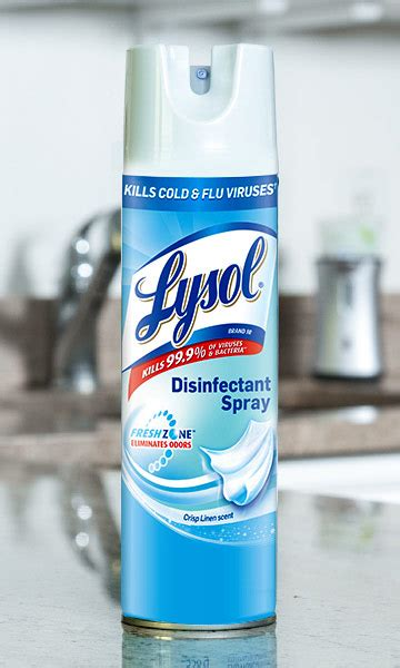 select lysol spray