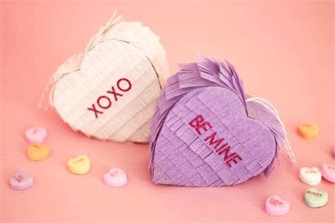 valentines day pinata s day diy mini conversation pi 241 ata evite