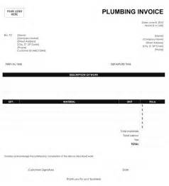 Plumbers Invoice Template Gallery For Gt Freelance Invoice Template Microsoft Word