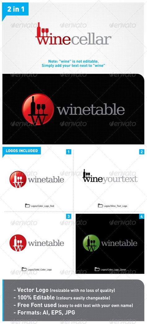 2in1 Unique 26 best images about wine bar logos on wine