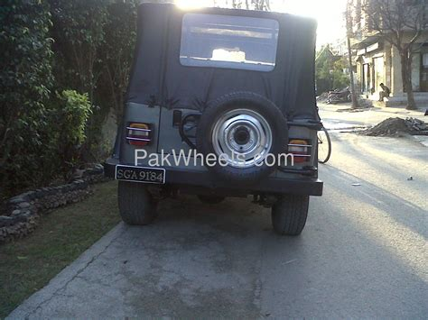 Jeep Wrangler 1981 Jeep Wrangler 1981 For Sale In Lahore Pakwheels