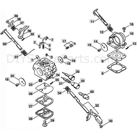 stihl chainsaw carburetor diagram stihl ms 211 chainsaw ms211c parts diagram carburetor