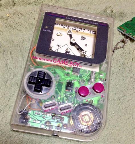 super gameboy mod fan mods old game boy into a clock global geek news