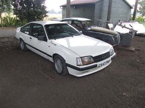 Opel Car For Sale by 1987 White Opel Monza For Sale 1986 On Car And Classic