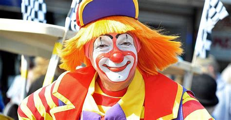 of a clown one brave is trying to restore humanity s faith in clowns