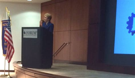 Forum Credit Union Conference Center Lt Gov Ellspermann Speaks To Fishers Rotary Club