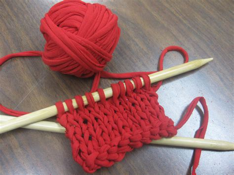 how to prepare yarn for knitting upcycle t shirts into knitting yarn impact thrift stores