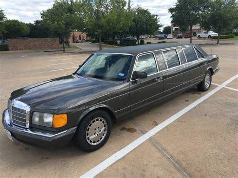mercedes benz sel limousine deadclutch