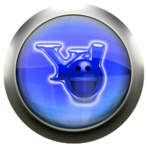 Yahoo Messenger Search Classic Blue Yahoo Messenger Icons Free Icons In Classic Blue Icon Search Engine