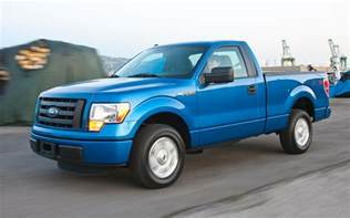 2011 Ford F 150 Regular Cab 2011 Ford F 150 Comparison Tests Truck Trend