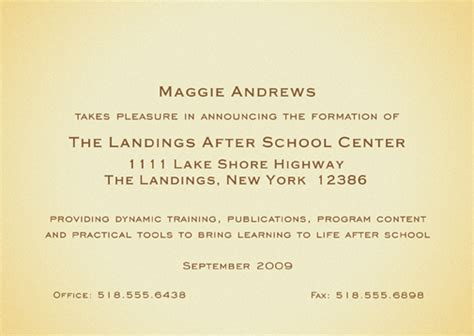 business announcement cards templates 25 personalized new business announcements nba 03 gold