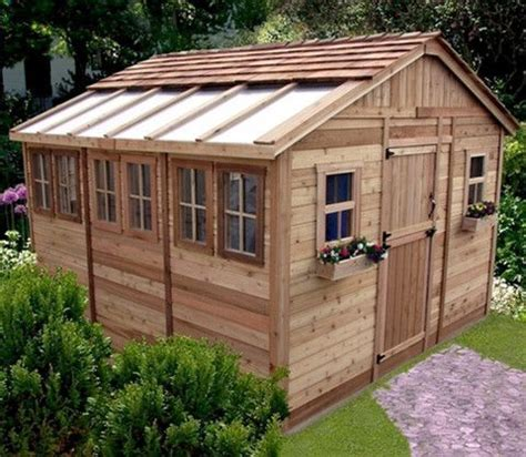 Sunshed Garden Shed by Outdoor Living Today 12 X 12 Sunshed Garden Shed With